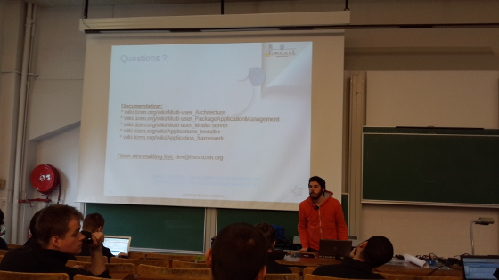 FOSDEM 2015: Multi-user experience in Tizen