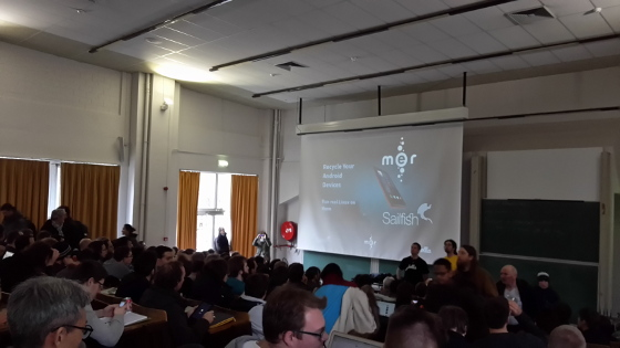 FOSDEM 2015: Recycle your Android devices for anything: run real Linux on them