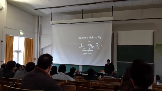 Teaching fish how to fly at FOSDEM 2015