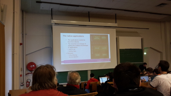 FOSDEM 2015: Tizen architecture and native applications