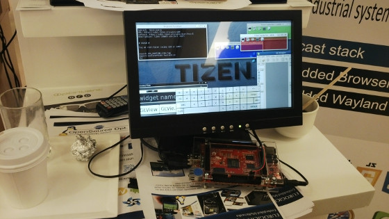 Tizen:Common running on A20-OLinuXino-MICRO during Tizen Developer Conference 2014